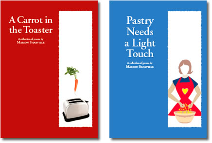Two books of poetry by Marion Sharville