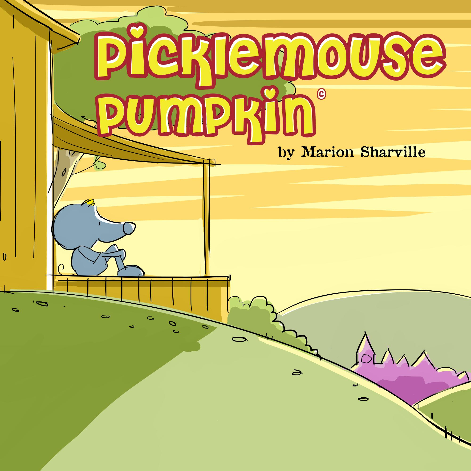 Picklemous Pumpkin by Marion Sharville