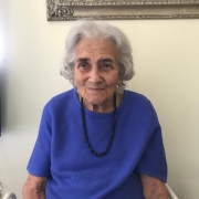 Marion, April 2020, aged 98