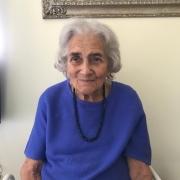 Marion, April 2020, aged 98